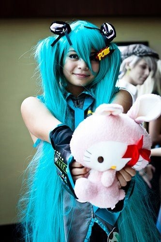 Vocaloid Miku Hatsune Cosplay Fotos