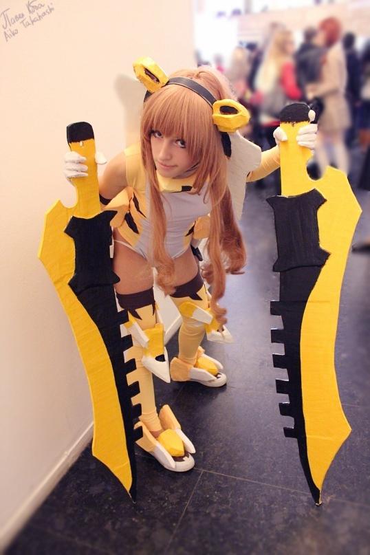 ToraDora cosplay Aisaks Taiga Cosplay Fotos