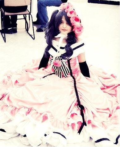 Personnages de Black Butler lady Phantomhive Cosplay