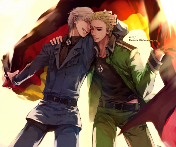 Hetalia Axis Powers Prussia Cosplay
