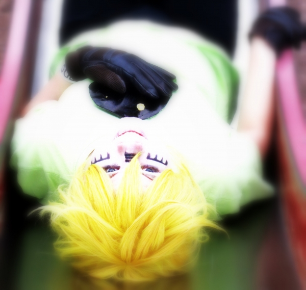 Vocaloid Len Kagamine Matryoshka Photos Cosplay