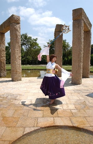 FINAL FANTASY X Yuna Cosplay Fotos