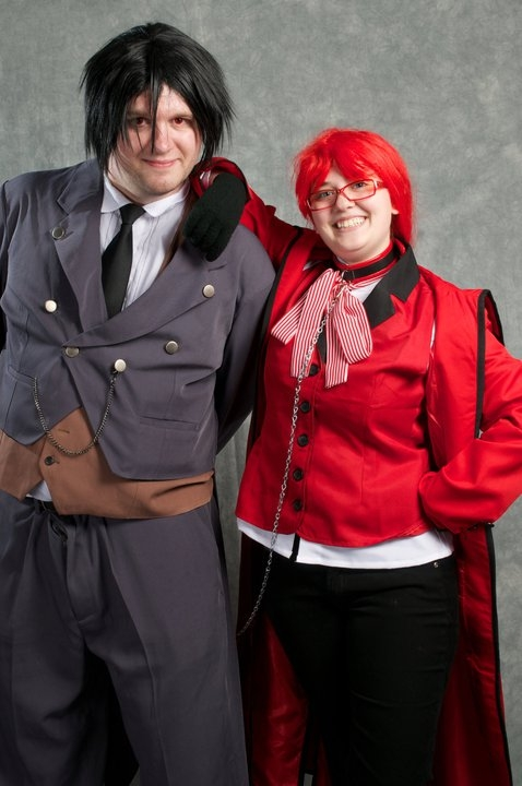 Black Butler Grell Cosplay Fotos