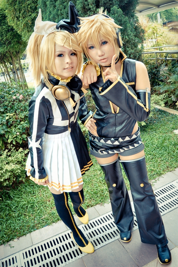 Vocaloid halloween Cosplay Fotos