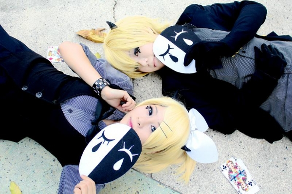 Vocaloid poker face Cosplay Fotos