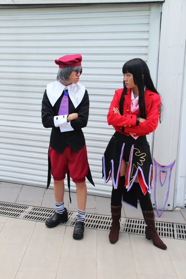 Umineko no Naku Koro ni Lucifer and Kanon コスプレ