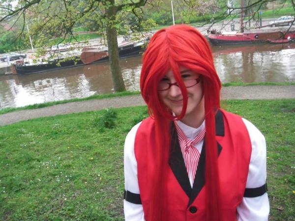Personnages de Black Butler Grell Sutcliff Photos Cosplay