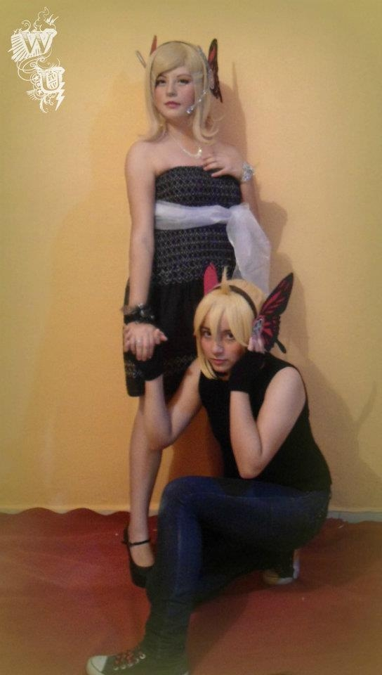 Vocaloid Rin & Len Kagamine Magnet Photos Cosplay