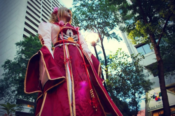Tsubasa Chronicles Sakura Cosplay