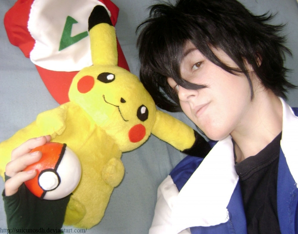 Ash Pokemon Ash Pokemon Foto Cosplay