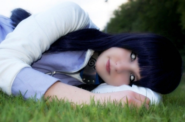 NARUTO Hinata Hyuuga Fotos Cosplay