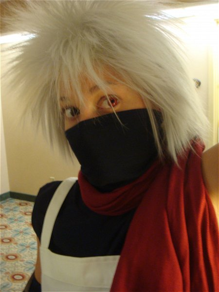 NARUTO Kakashi Anbu Photos Cosplay
