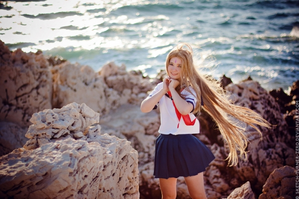 Belldandy Belldandy. In the wind Cosplay