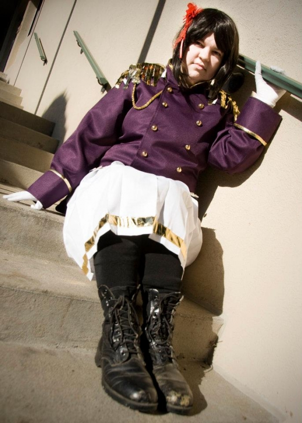 Hetalia Dark Fem!Japan Cosplay