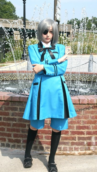 Black Butler Ciel Phantomhive Cosplay Fotos