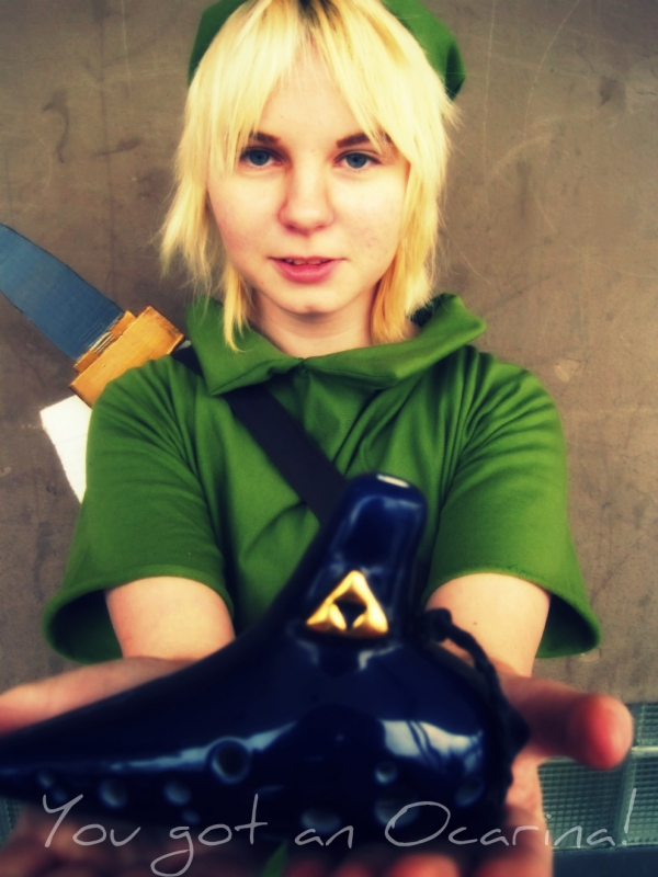The Legend of Zelda Majora's Mask Link Photos Cosplay
