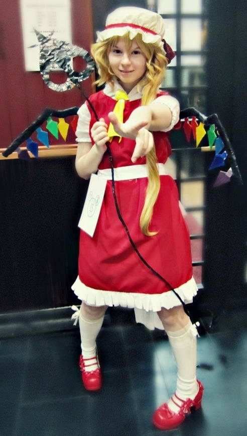 Touhou Project Flandre Scarlet Cosplay Fotos