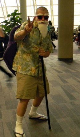 Dragon Ball Master Roshi Foto Cosplay