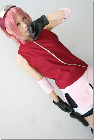 NARUTO Sakura Photos Cosplay