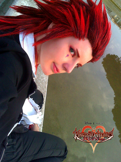 Axel Kingdom Hearts コスプレ写真