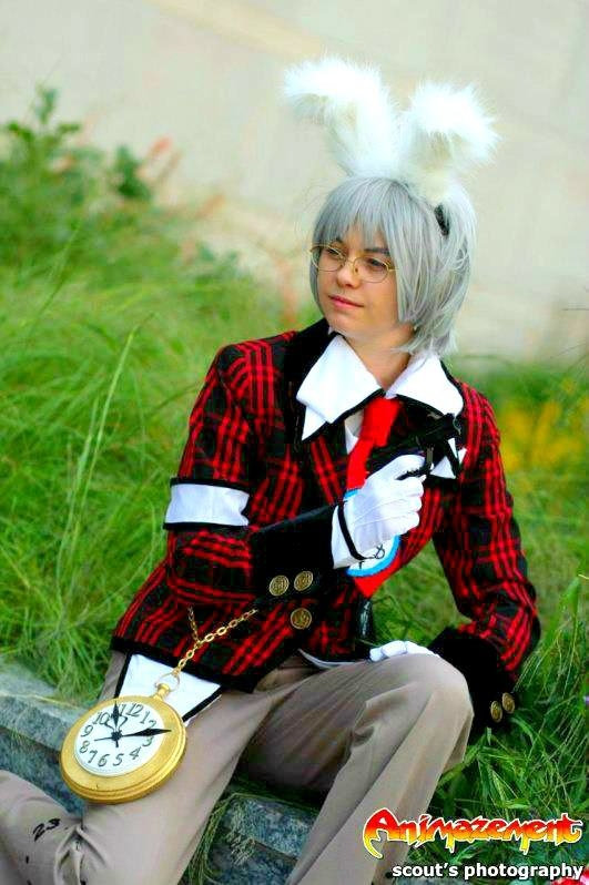 Alice au royaume de cœur Peter White Cosplay