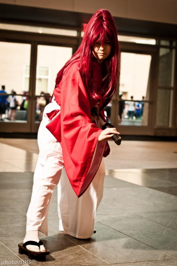 るろうに剣心 Himura Kenshin コスプレ写真