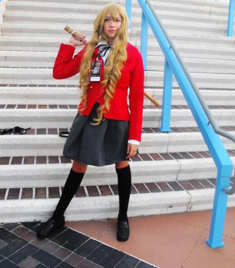 Toradora! Taiga Aisaka Foto Cosplay