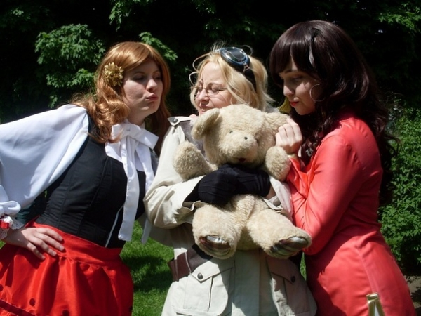 Hetalia Axis Powers Canada, Hungary, Taiwan Foto Cosplay