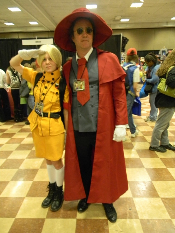 Hellsing Seras Victoria and Alucard Cosplay
