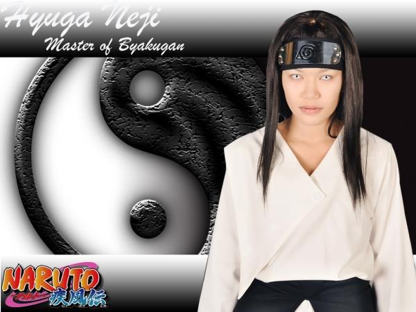 Neji Hyuga Master Of Byakugan