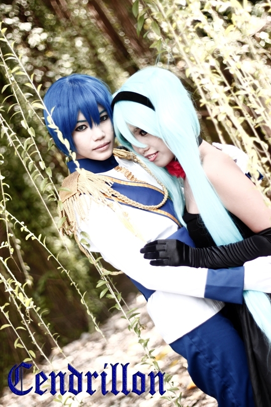 Vocaloid Kaito Foto Cosplay