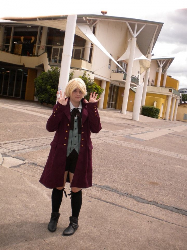 Personnages de Black Butler II Alois Trancy Cosplay