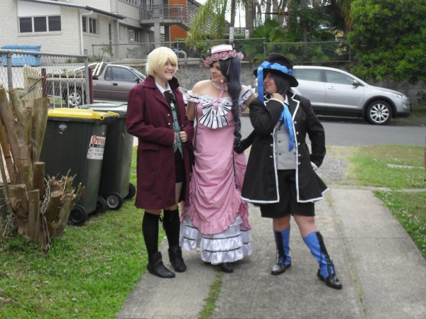 Black Butler Ciel Phantomhive Alois Trancy Cosplay Fotos