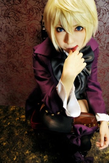 black butler Alois Trancy コスプレ写真