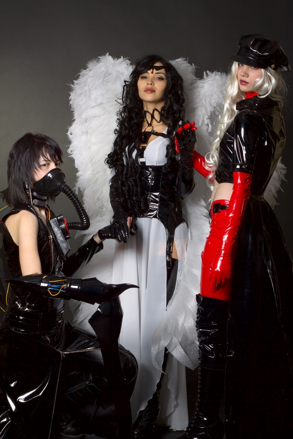 Angel Sanctuary Alexiel, Rosiel, Lucifer Cosplay