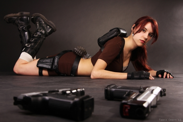 Lara Croft Tomb Raider Foto Cosplay