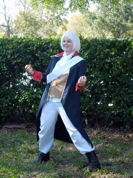 Hetalia 7 Years War Prussia Cosplay