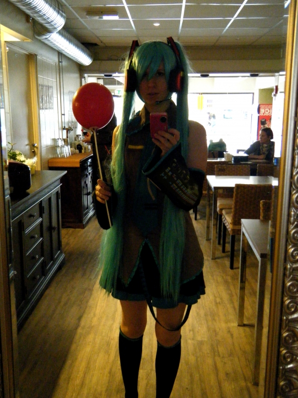 Vocaloid Hatsune Miku Cosplay Fotos