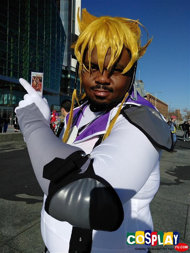 Jack Atlas Cosplay from Yu-Gi-Oh! 5D's by Quevie