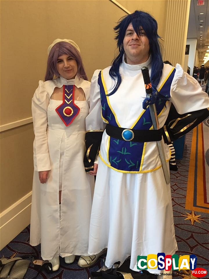 Atwight Eks Cosplay from Tales of Destiny by Adrienne