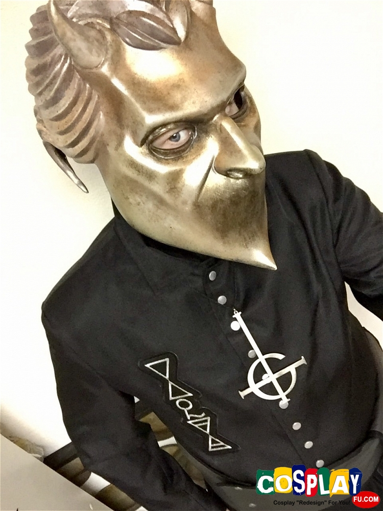 A Nameless Ghoul Cosplay from Ghost (Swedish band) by Shawn