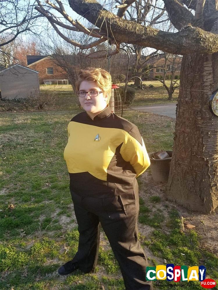 Data (Star Trek) Cosplay from Star Trek by Hannah