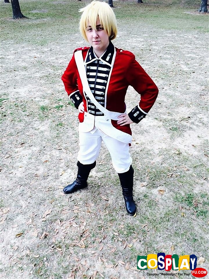Arthur Kirkland (United Kingdom) Cosplay from Axis Powers Hetalia by Hannah