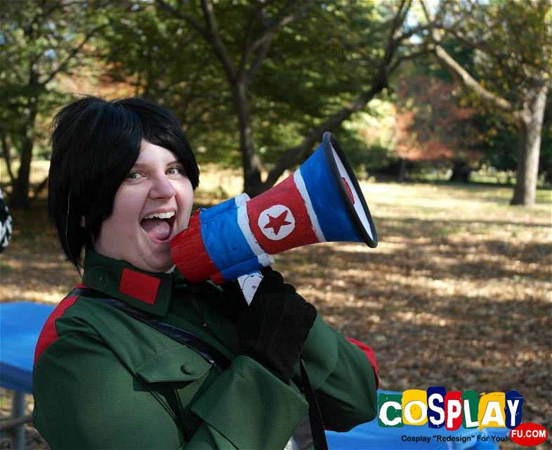Hetalia Axis Powers Corea del Nord Foto Cosplay