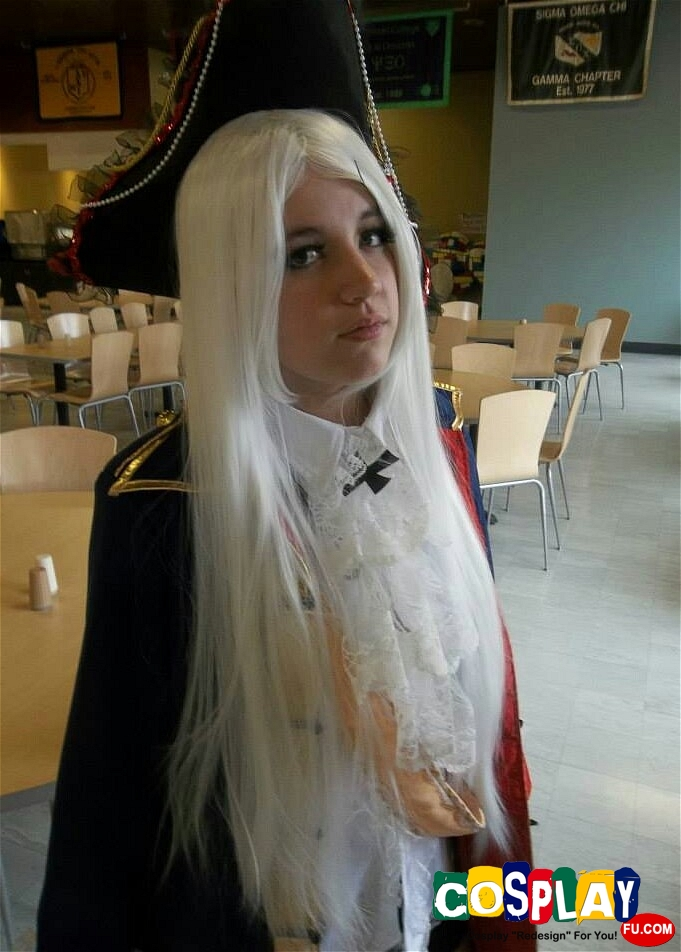 Gilbert Weillschmitt (Prussia) Cosplay from Axis Powers Hetalia by Kayleigh