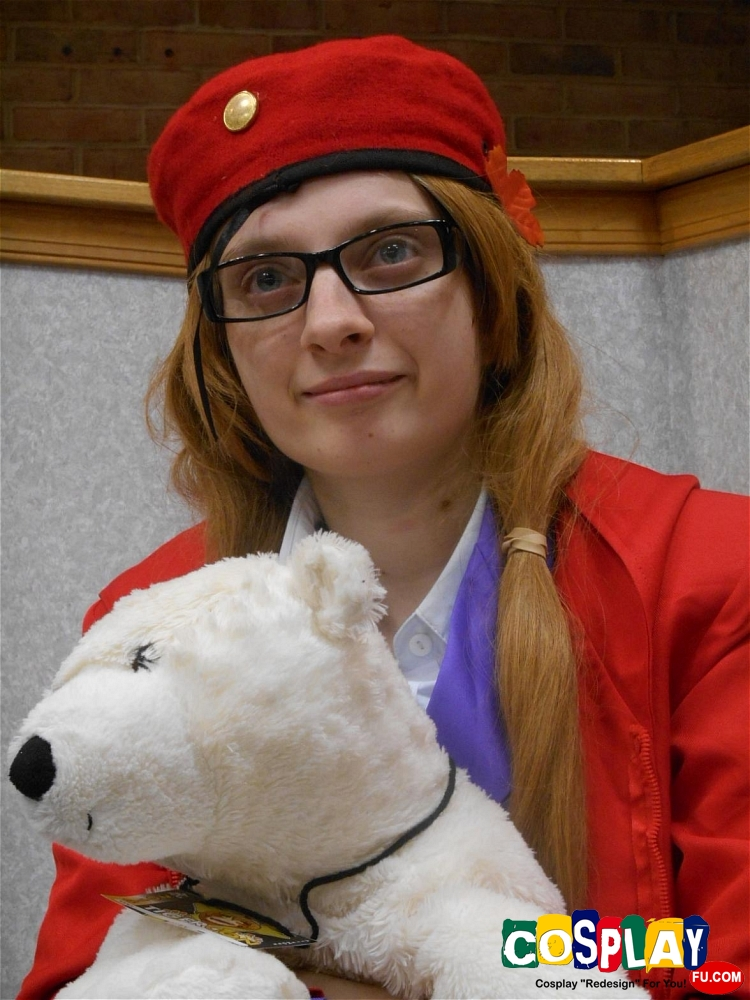 Matthew Willams (Canada) Cosplay from Axis Powers Hetalia by Earl