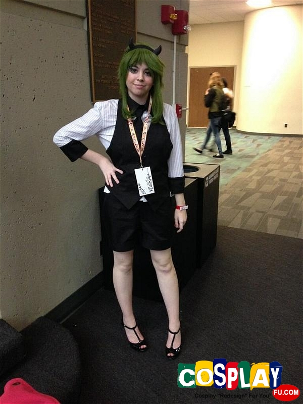 Gumi Cosplay from Vocaloid by Caitlin