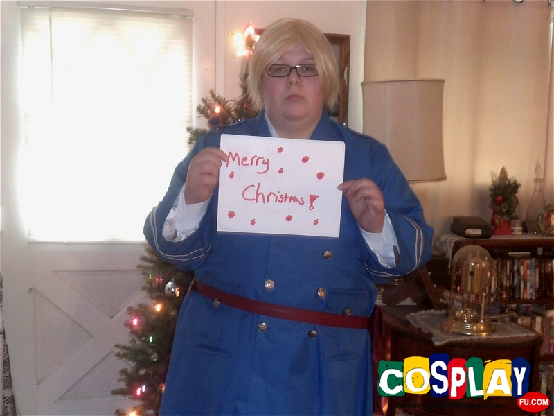 Berwald Oxenstierna (Sweden) Cosplay from Axis Powers Hetalia