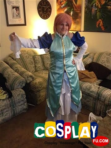 Estellise Sidos Heurassein Cosplay from Tales of Vesperia by Adrienne