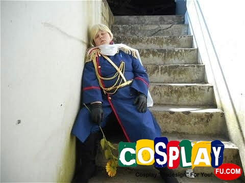 Gilbert Beilschmidt(Prussia) Cosplay from Axis Powers Hetalia by Amanda